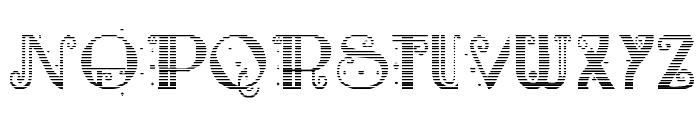 Rebimboca Gradient Font UPPERCASE