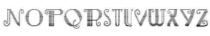 Rebimboca Gradient Font LOWERCASE