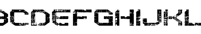 Reboot Crush Font UPPERCASE
