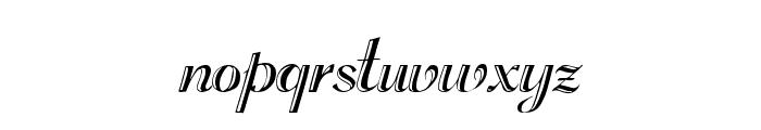 Rechtman Plain Font LOWERCASE