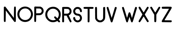 RecinosScript Bold Regular Font UPPERCASE