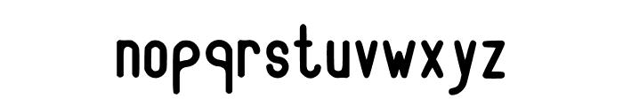 RecinosScript Bold Regular Font LOWERCASE