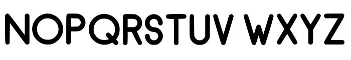 RecinosScript ExtraBold Regular Font UPPERCASE