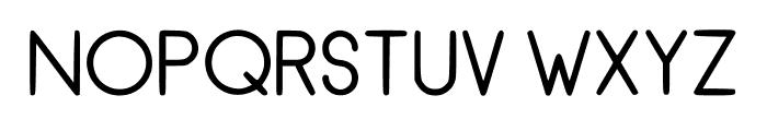 RecinosScript Regular Regular Font UPPERCASE