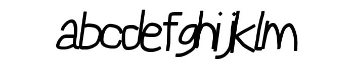 Reckless Catfish Bold Italic Font LOWERCASE