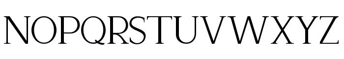 Recoba Font LOWERCASE