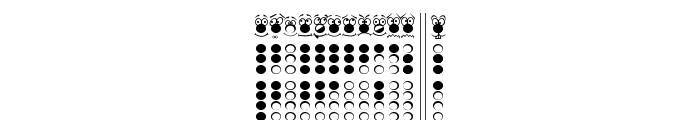 Recorder Eyes Font UPPERCASE
