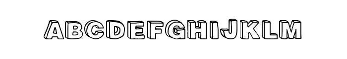 Recreational Font UPPERCASE