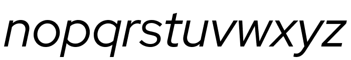 Red Hat Display It Font LOWERCASE