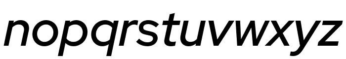 Red Hat Display Medium It Font LOWERCASE
