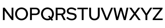 Red Hat Display Medium Font UPPERCASE