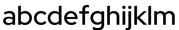 Red Hat Display Medium Font LOWERCASE