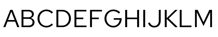 Red Hat Text Font UPPERCASE