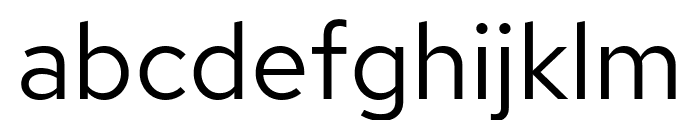 Red Hat Text Font LOWERCASE