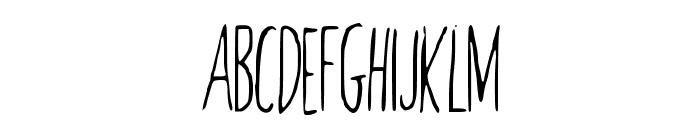 RedBalloon2 Font UPPERCASE