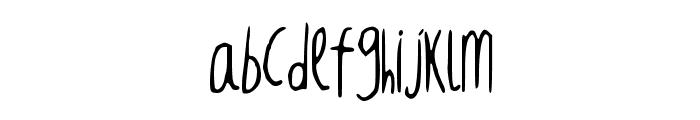 RedBalloon2 Font LOWERCASE