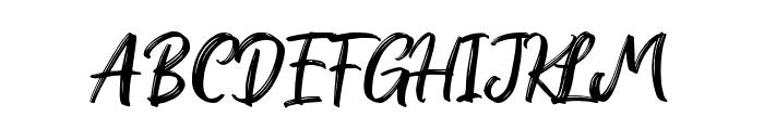 RedBrightDemo-Regular Font UPPERCASE