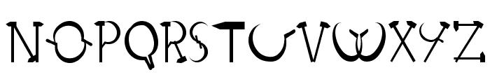 RedLetter-Normal Font LOWERCASE