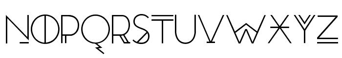 RedMoonRising-Regular Font UPPERCASE