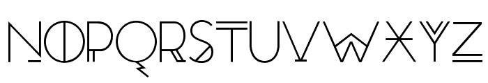 RedMoonRising-Regular Font LOWERCASE