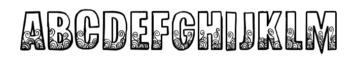 RedSnapper-Regular Font UPPERCASE
