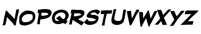 RedStateBlueState BB Bold Font LOWERCASE