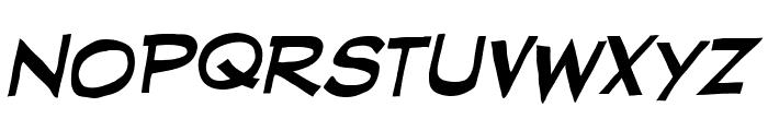 RedStateBlueState BB Italic Font LOWERCASE