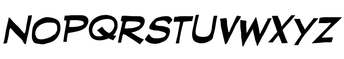 RedStateBlueStateBB-Italic Font LOWERCASE