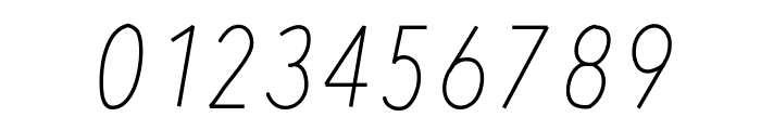 RedWood Oblique Font OTHER CHARS