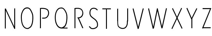 RedWood Font UPPERCASE
