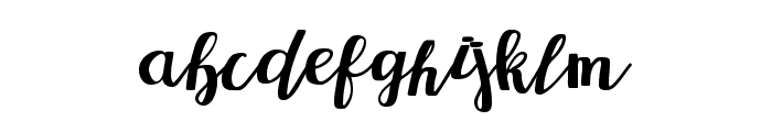 Redbus Font LOWERCASE