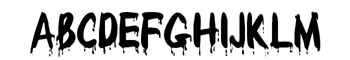 Redcap Bloodthirsty Font LOWERCASE