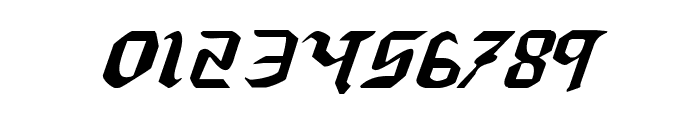 Redcoat Expanded Italic Font OTHER CHARS