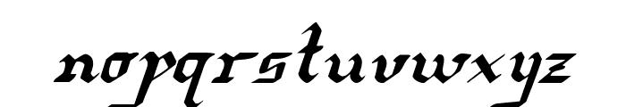 Redcoat Italic Font LOWERCASE