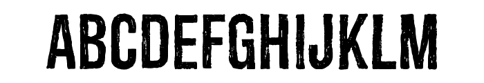 Redgar Font LOWERCASE