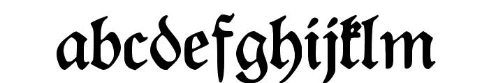 Rediviva Font LOWERCASE