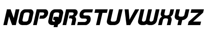 Redline Italic Font UPPERCASE