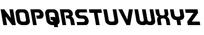 Redline Leftalic Font UPPERCASE