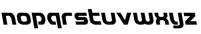 Redline Leftalic Font LOWERCASE
