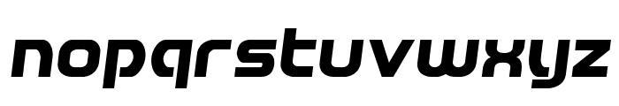Redline Semi-Italic Font LOWERCASE