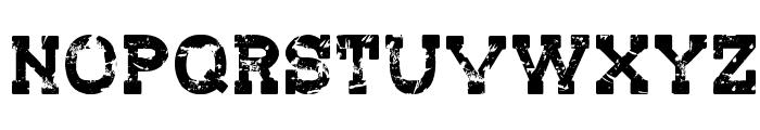 Redwood Creek Font UPPERCASE