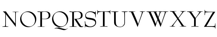 Reed Regular Font UPPERCASE