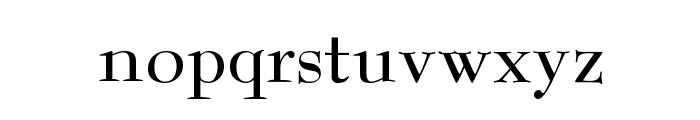 Reed Regular Font LOWERCASE