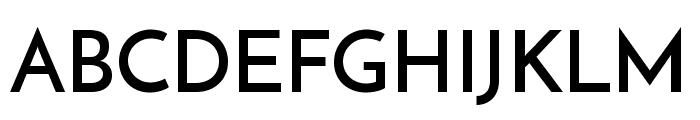 Reem Kufi Regular Font UPPERCASE