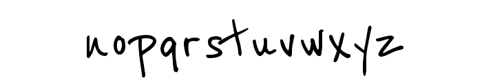 Reenie Beanie Font LOWERCASE