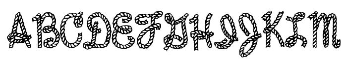Reeperbahn Font UPPERCASE