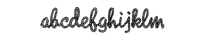 Reeperbahn Font LOWERCASE