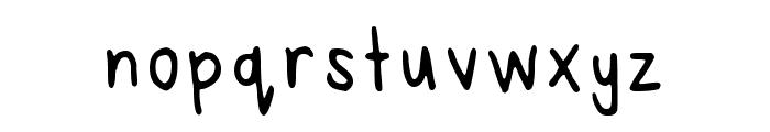 Reeses Regular Font LOWERCASE