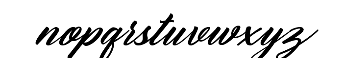 Reflisatta Italic Font LOWERCASE