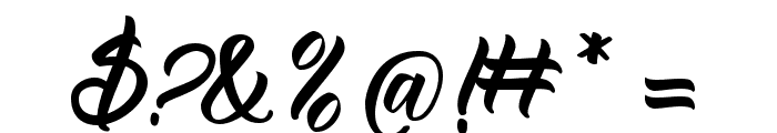 Reflisatta Font OTHER CHARS